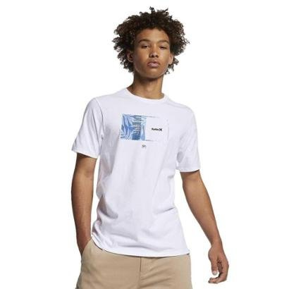 Camiseta Hurley Silk Sig Zane Moorea Masculina