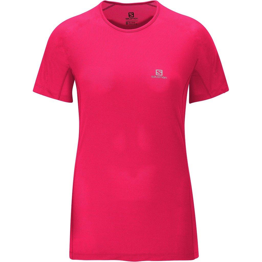 Camiseta Camiseta Hybrid Rosa Pink Hybrid SS Salomon BdwxdO7
