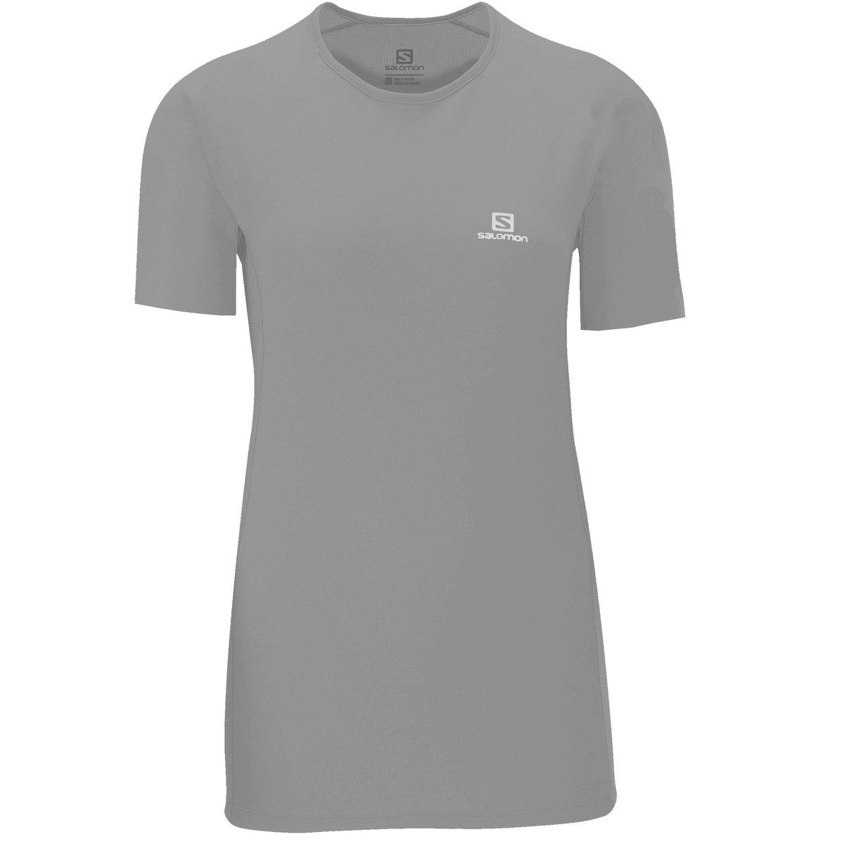 Preto Camiseta Camiseta Hybrid Salomon SS Hybrid SS Salomon cOa76qvwO