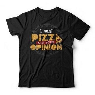 Camiseta I Want Pizza