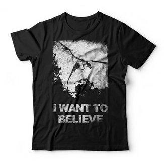 Camiseta I Want To Believe Studio Geek