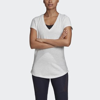 Camiseta ID Winners com Gola em V Adidas Feminina