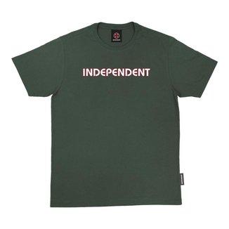 Camiseta Independent Bar Logo Verde Escuro