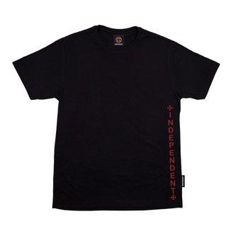Camiseta Independent Vertical Preta