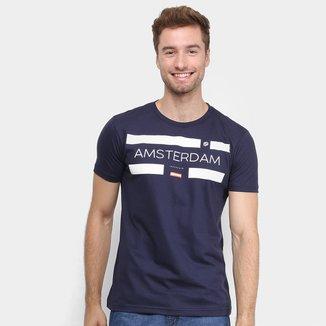 Camiseta Industrie Amsterdam Básica Masculina