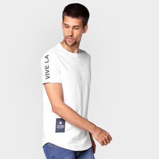 Camiseta Industrie Estampa Costas Masculina