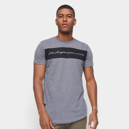 Camiseta Industrie Los Angeles Faixa Masculina