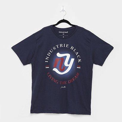 Camiseta Industrie Plus Size Basica Masculina