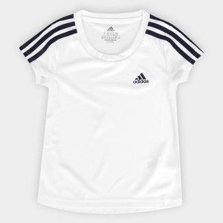 Camiseta Infantil Adidas D2m Feminina