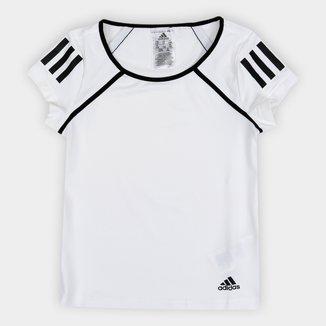 Camiseta Infantil Adidas G Club Proteção UV Feminina