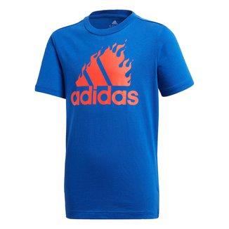 Camiseta Infantil Adidas Graphic Masculina