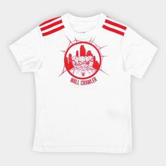 Camiseta Infantil Adidas Homem-Aranha 3S Masculina