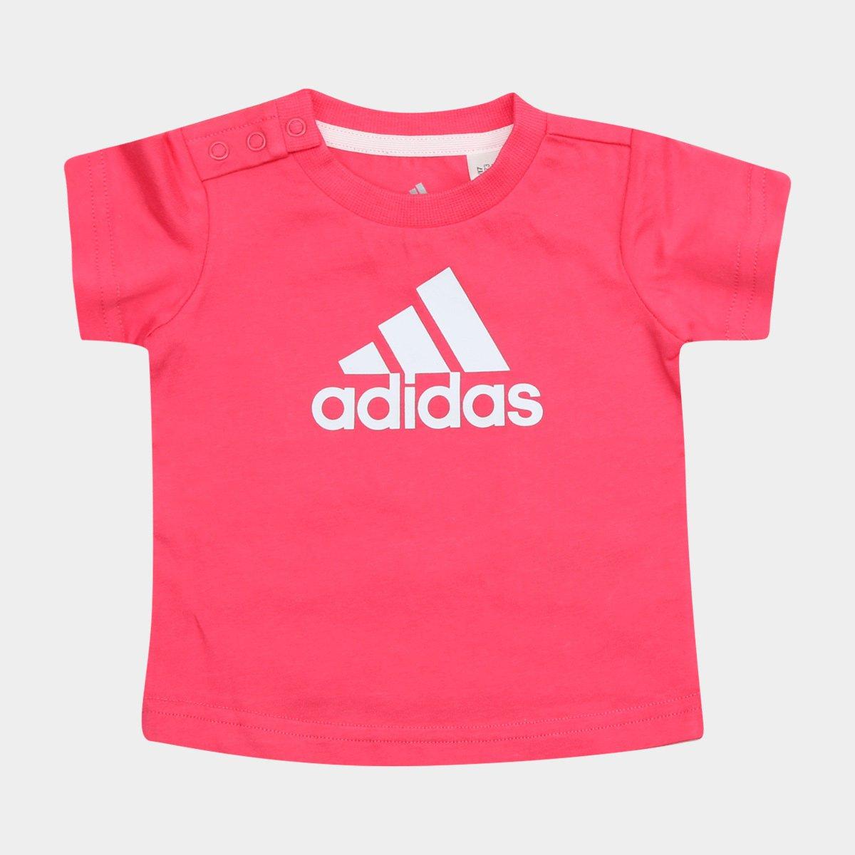 Camiseta I Fav Tee Baby Infantil Camiseta Infantil Pink Adidas ZqpBnHgHxw