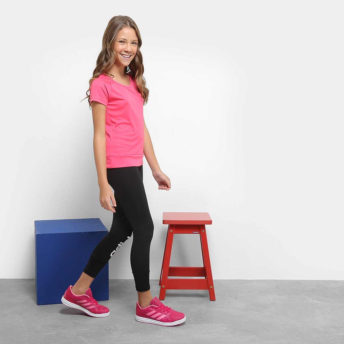 Yg Camiseta Mc Pink Gu Infantil Infantil Adidas Adidas Camiseta FYX4xdXqwT