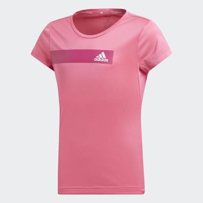 Camiseta Infantil Adidas Treino Cool Feminina