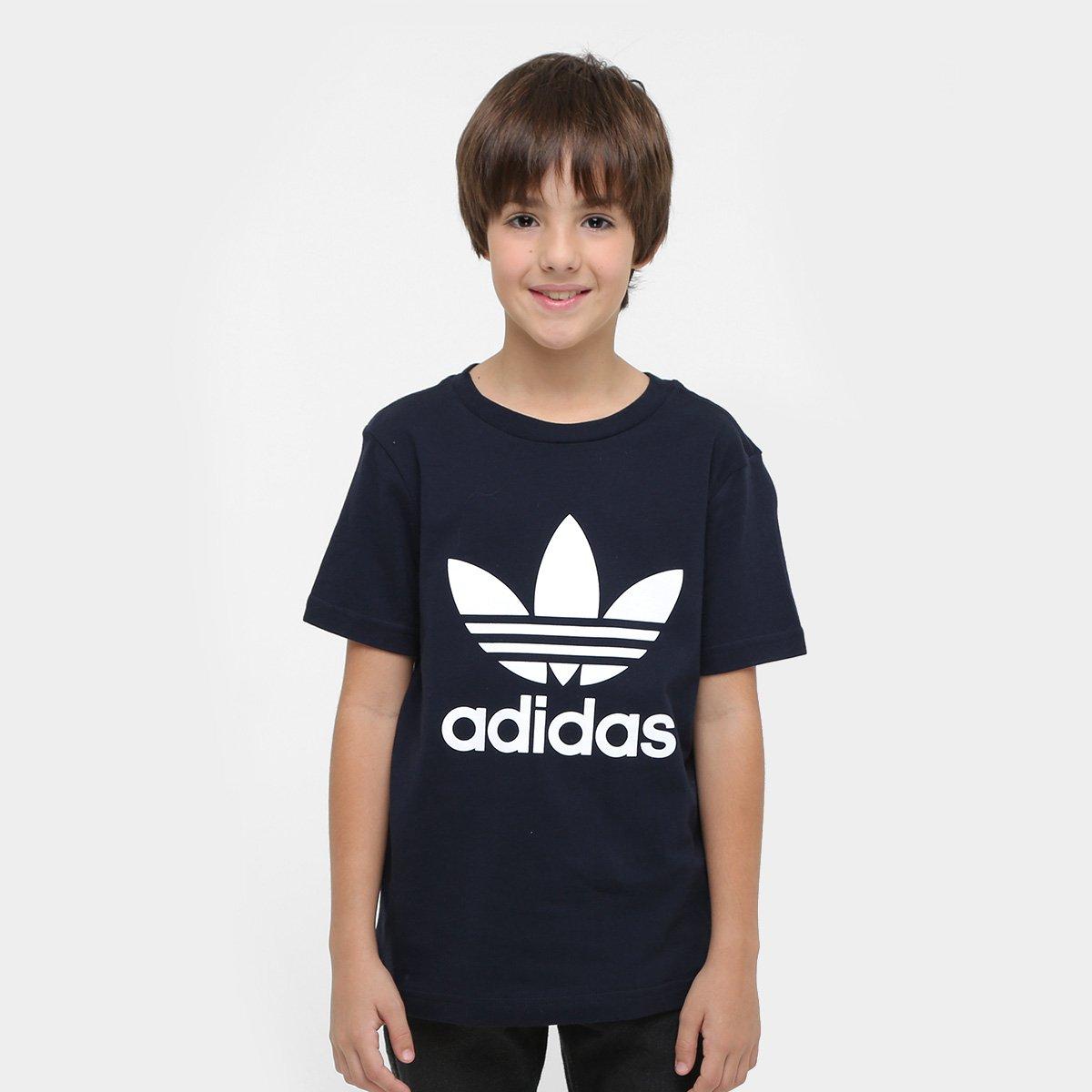 90021cff8ce Camiseta Infantil Adidas Trf J Masculina - Compre Agora