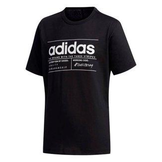 Camiseta Infantil Adidas Yb Bb T Masculina