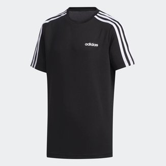 Camiseta Infantil Adidas Yb Tr 3S T Manga Curta Masculina