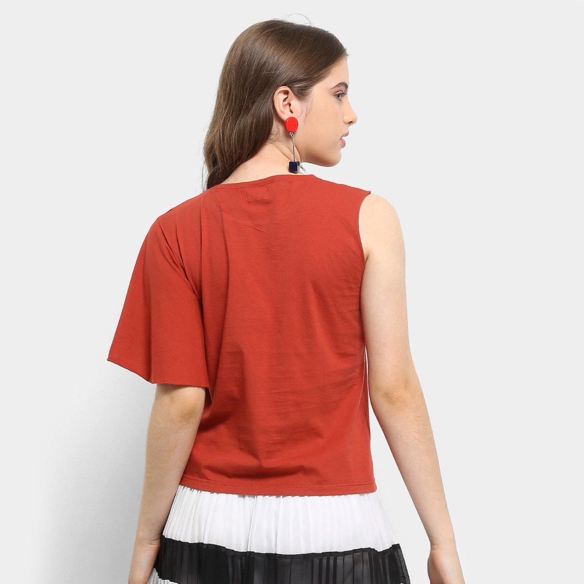 Assimétrica Laranja Feminina Camiseta Infantil Colcci Laranja Assimétrica Colcci Infantil Estampada Camiseta Feminina Estampada a1qxXw