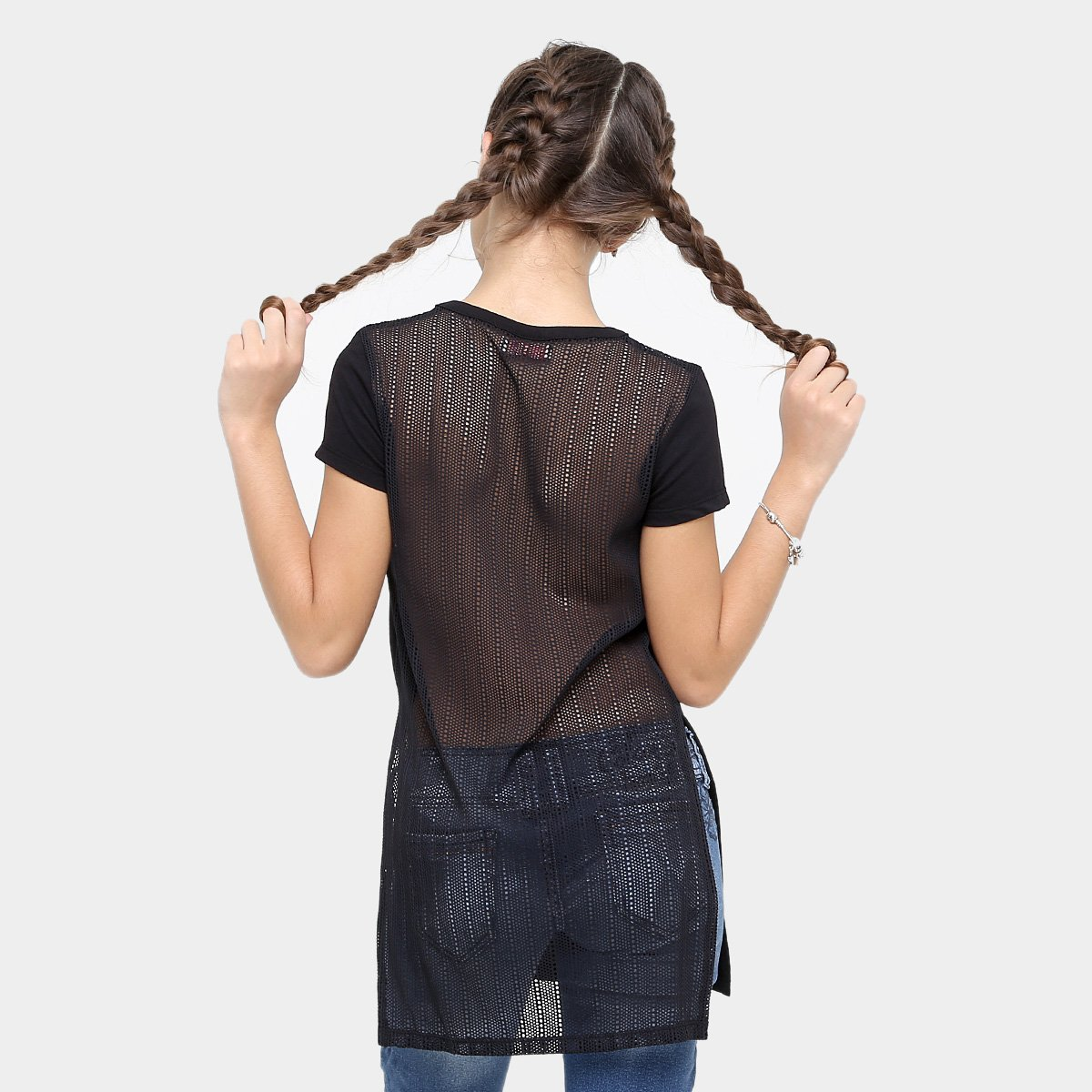 Camiseta Camiseta Preto Infantil Fun Feminina Colcci Infantil Colcci Estampada qFxwEHPRx