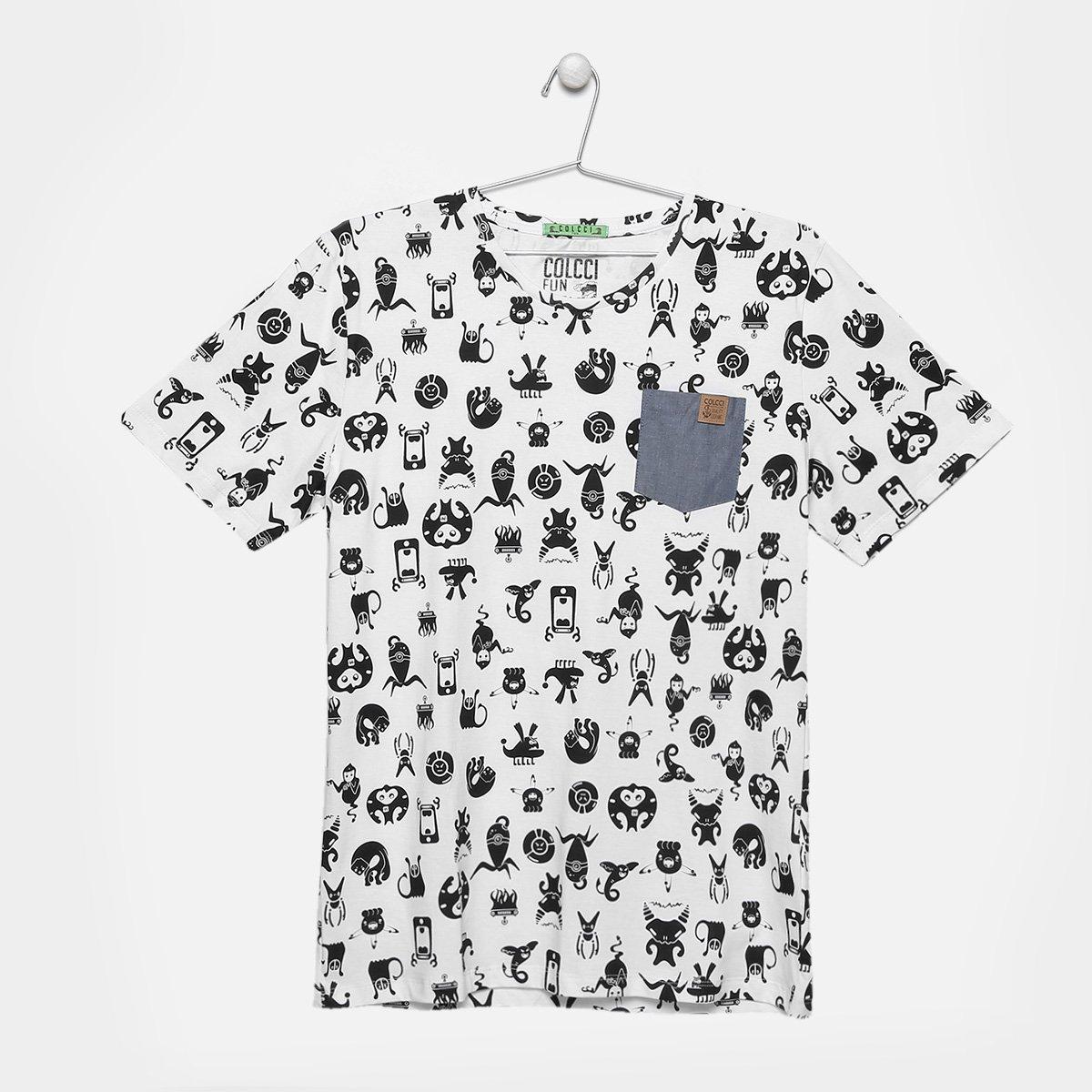 a6e359f65 Camiseta Infantil Colcci Fun Estampada Masculina | Netshoes