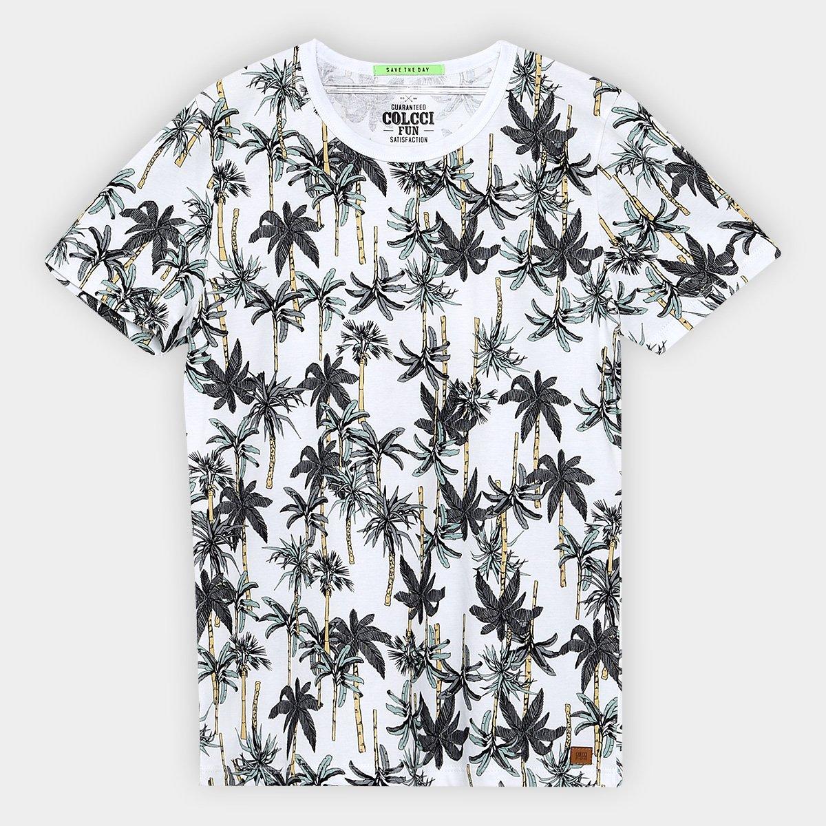 6ea6a9bfd Camiseta Infantil Colcci Fun Estapada Coqueiro Masculina - Compre Agora
