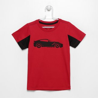 Camiseta Infantil Corvette Big Car