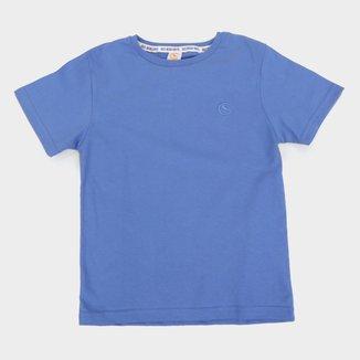 Camiseta Infantil Costão Básica Logo Masculina