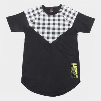 Camiseta Infantil Costão Long Street Masculina