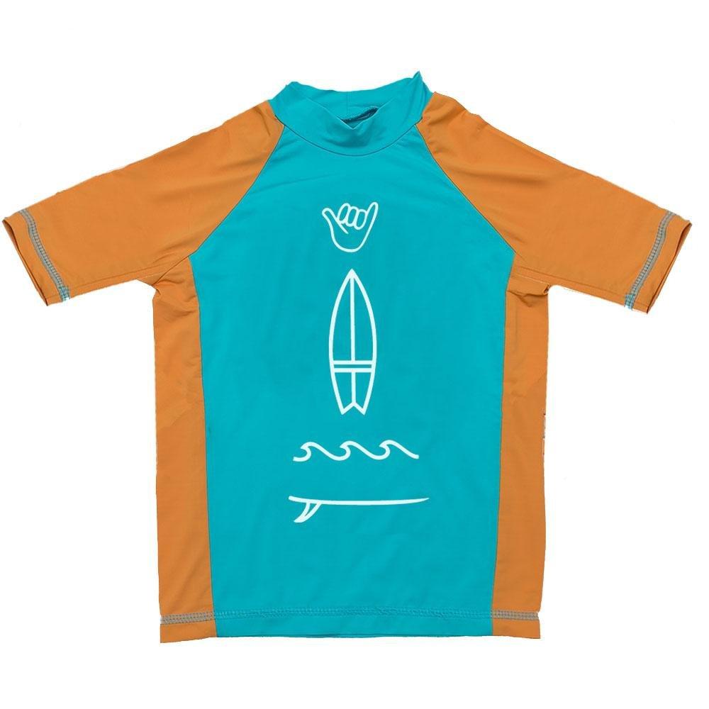 2d259338b Camiseta Infantil De Lycra Manga Curta Comfy Prancha Masculino - Verde