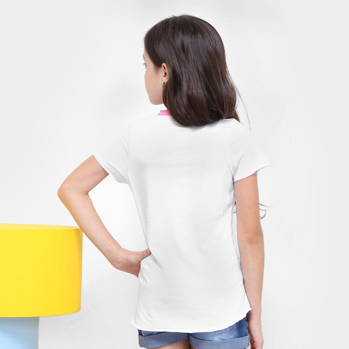 Camiseta Bela Branco Infantil Disney Camiseta Disney Feminina Branco Adormecida Adormecida Feminina Infantil Camiseta Infantil Bela Bw1x6qdwPA