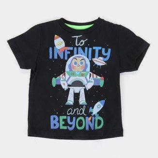 Camiseta Infantil Disney Buzz Lightyear Masculina