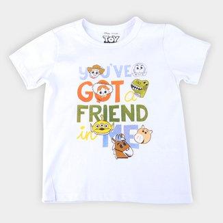 Camiseta Infantil Disney Got A Friend Toy Story Masculina