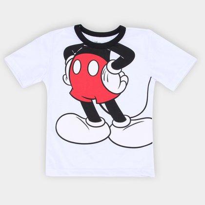 Camiseta Infantil Disney Mickey Body Masculina