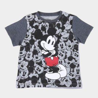 Camiseta Infantil Disney Mickey Cool Masculina