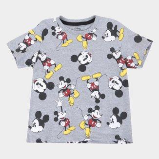 Camiseta Infantil Disney Mickey Full Masculina