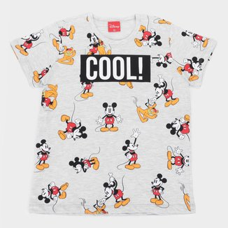 Camiseta Infantil Disney Mickey Mouse and Friends Masculina