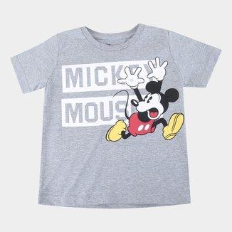 Camiseta Infantil Disney Mickey Mouse Masculina