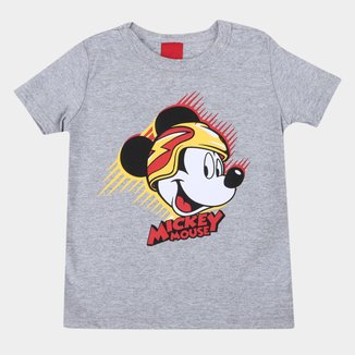 Camiseta Infantil Disney Mickey Mouse Radical Masculina