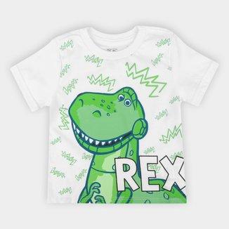 Camiseta Infantil Disney Toy Story Rex Masculina