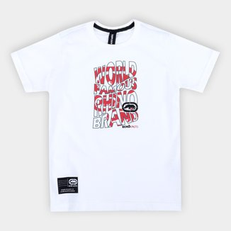 Camiseta Infantil Ecko Estampada Masculina