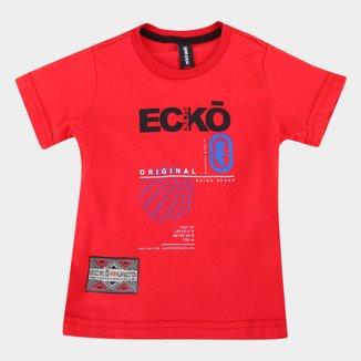 Camiseta Infantil Ecko World Masculina