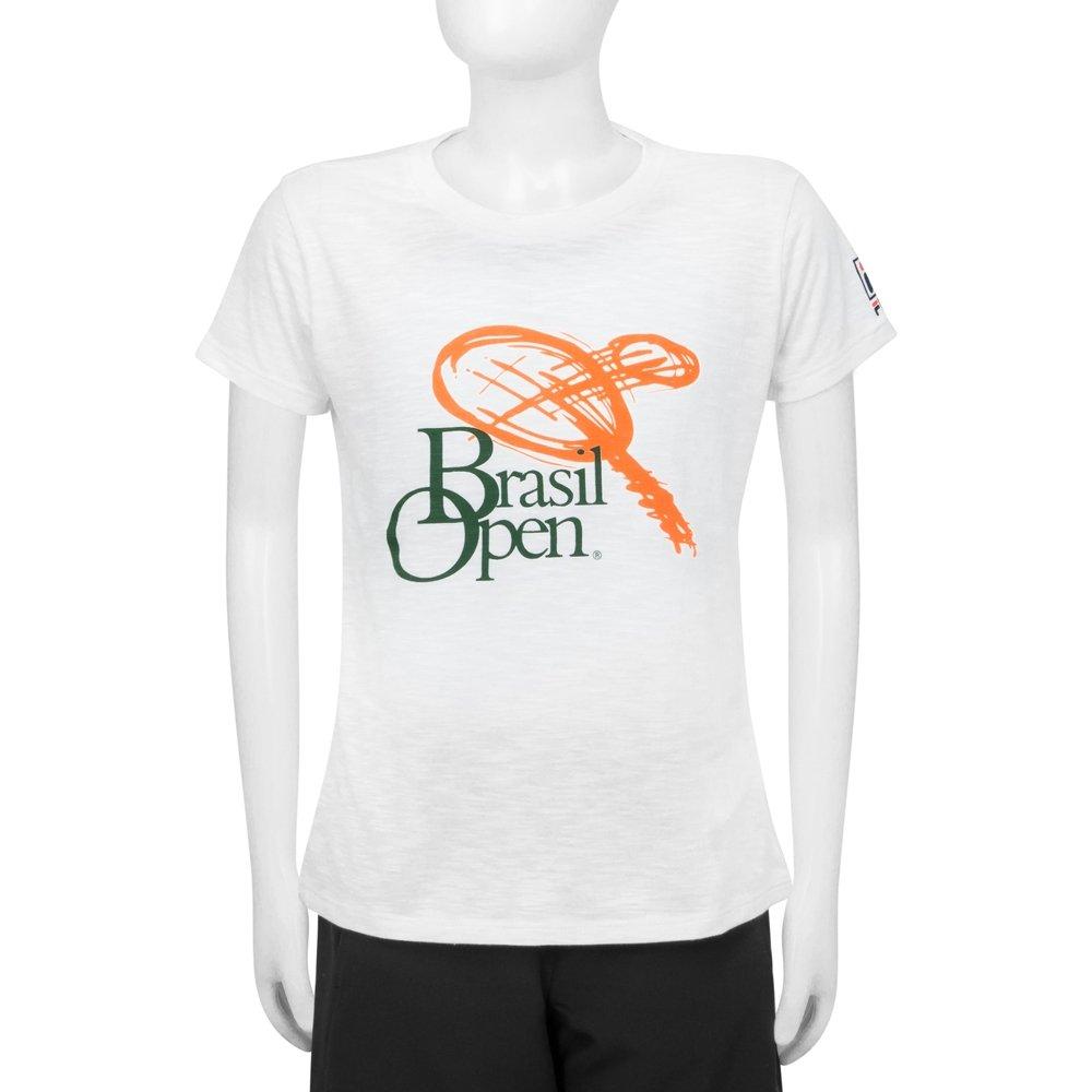 Brasil Feminina Branco Infantil 2017 Branca Fila Edição Camiseta GG Open z6X5qBfq