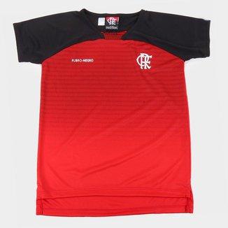 Camiseta Infantil Flamengo Shadow