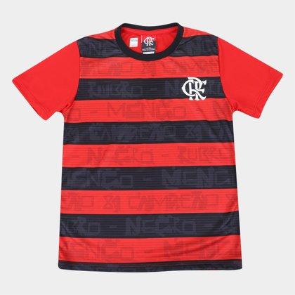 Camiseta Infantil Flamengo Shout