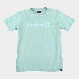 Camiseta Infantil Hurley O&O Solid Masculina