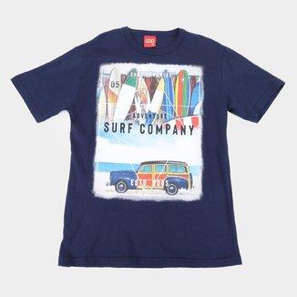 Camiseta Infantil Kyly Surf Company Masculina