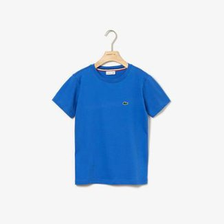 Camiseta Infantil Lacoste Regular Fit Masculina