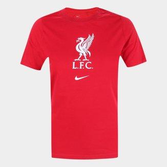 Camiseta Infantil Liverpool Nike Evergreen Crest