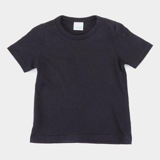 Camiseta Infantil Malwee Básica Lisa Masculina